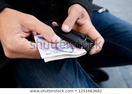 человека деньги бумажник Сток-фото © nito