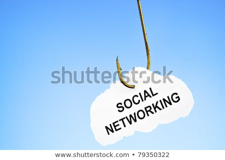 Hooked on social networking  Stock photo © ivelin