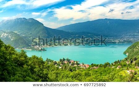 Meer frans alpen berg reizen Stockfoto © tilo