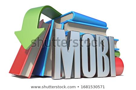 Ebook download 3D rendering 3d illustrazione isolato Foto d'archivio © djmilic