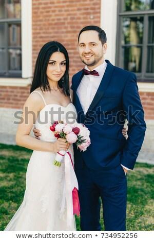 пару другой счастливым Выражения Сток-фото © vkstudio