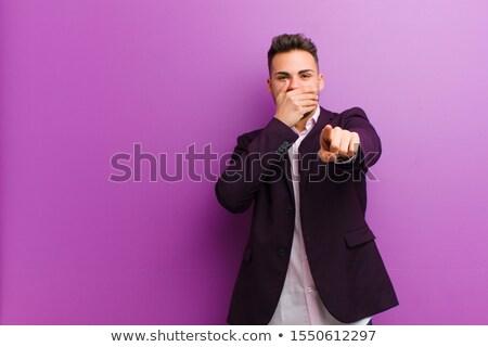 Hispanic · бизнесмен · указывая · выстрел · корпоративного · профессиональных - Сток-фото © dacasdo