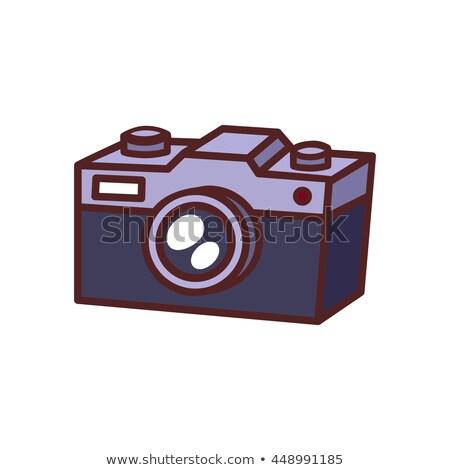 Cartoons Home Appliences Video Camera Stock photo © RAStudio