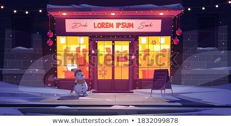 barred door and windows Stock photo © sirylok