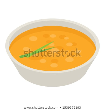 3d soup with ingredient stock photo © 3dmask