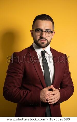 Halve lengte smart business model witte geïsoleerd Stockfoto © get4net