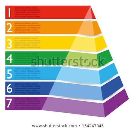 Stockfoto: Gebak · piramide · vakantie · permanente · bril · wijn