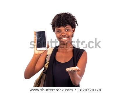 студию портрет женщины пеший турист женщину девушки Сток-фото © photography33