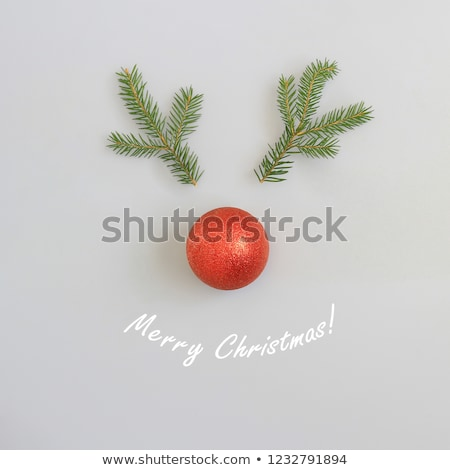 Red nose Rudolph Stock photo © lirch