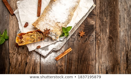 peren · plaat · twee · smakelijk · Geel · Rood - stockfoto © tab62