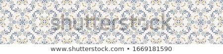 Medál természetes színes kő izolált fehér Stock fotó © ruzanna