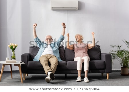 air sofa isolated stock photo © shutswis