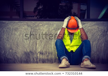 Angry Construction Worker Stock photo © ArenaCreative
