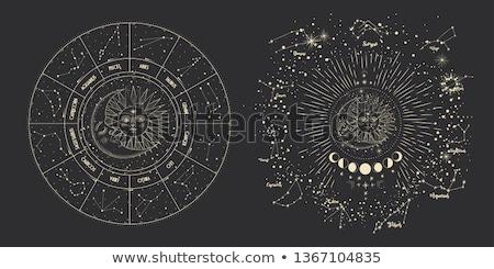 Set Of Stars And Moon Stock photo © adamson
