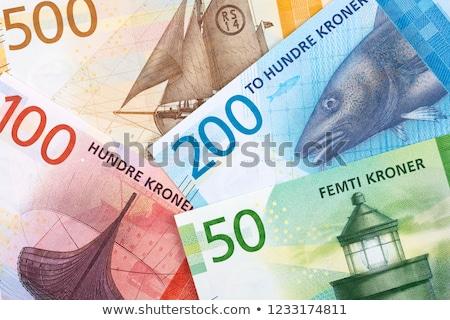 Norwegian money Stock photo © Stootsy