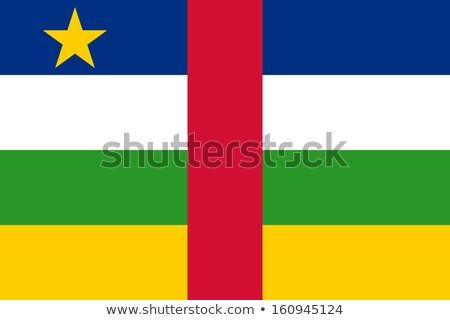 Flag of central african republic Stock photo © MikhailMishchenko