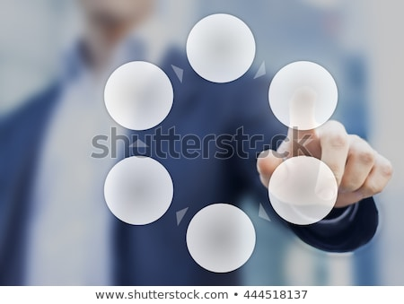 Cycle Process - Clockwise Stock photo © cteconsulting