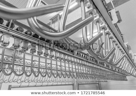 Rail fábrica cuadro Foto stock © zzve