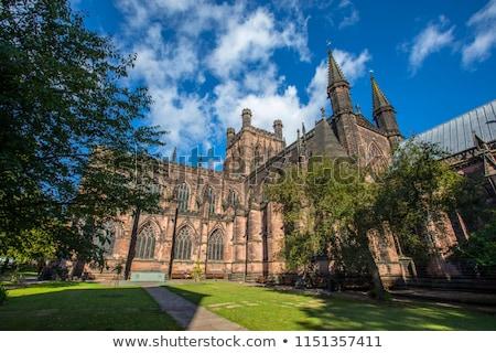 Catedral ciudad Inglaterra arquitectura religión antigua Foto stock © Snapshot