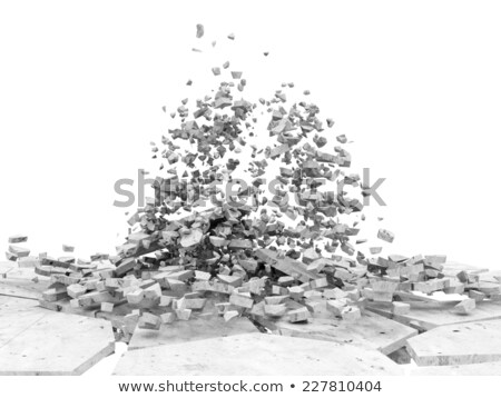 Broken Concrete Stock photo © pancaketom