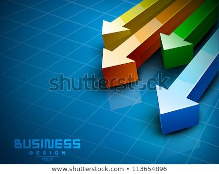 projecten · knop · moderne · woord · partners - stockfoto © tashatuvango
