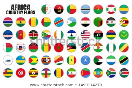 Düğme Nijerya harita bayrak yağ ülke Stok fotoğraf © Ustofre9