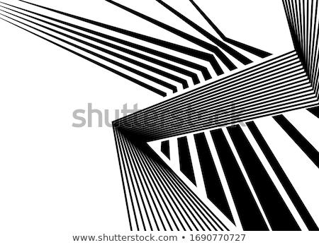 Inclined cross Stock photo © hraska