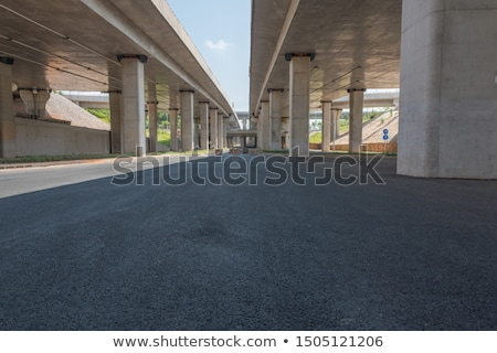 Road under overpass Stock photo © zzve