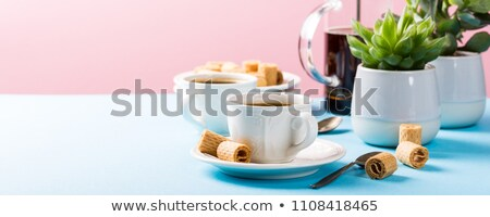 Wafer On Table Stock photo © ryhor