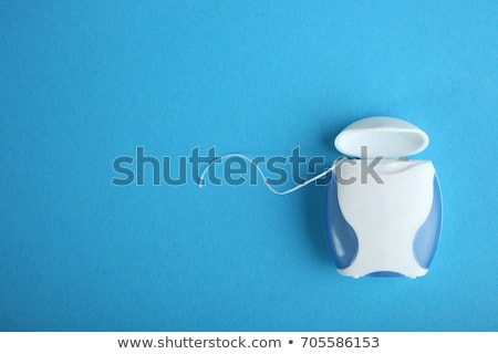 Pack flosdraad achtergrond tanden tape zorg Stockfoto © monkey_business