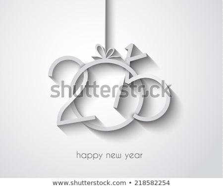 Original vetor ano novo 2015 cartão ilustração Foto stock © orson