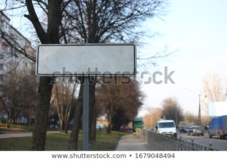 Focus on Details - Highway Signpost. Stock photo © tashatuvango