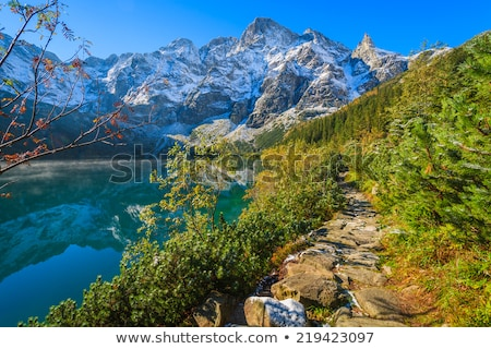 polish high tatras mountains stock photo © pixelman