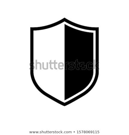 пальто оружия современных стиль дизайна черный Сток-фото © AbsentA