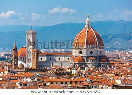 Cathédrale FLORENCE Italie vue Photo stock © tang90246