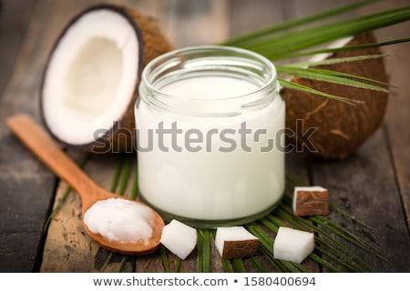 gyümölcsök · zöldségek · fonott · kosár · izolált · fehér - stock fotó © lithian