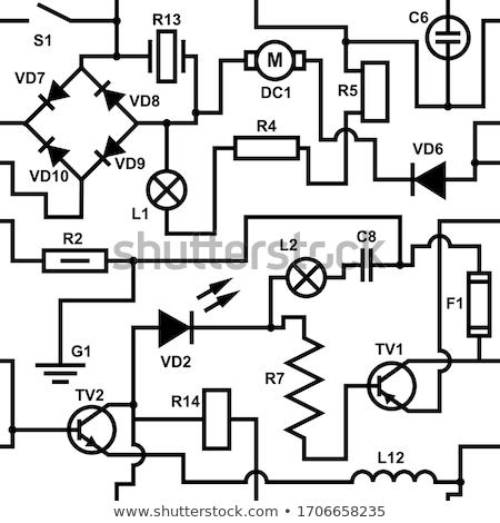 Stock photo: pictorial diagram