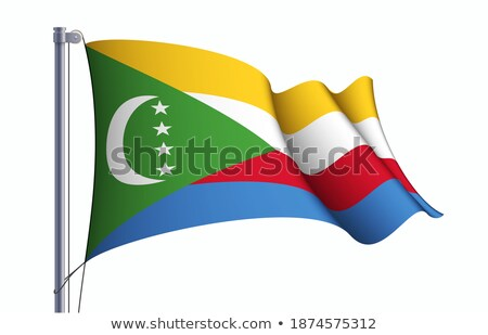 flag of Union of the Comoros Stock photo © Istanbul2009