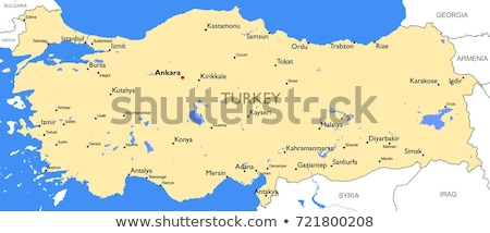 Map of Turkey, Kirikkale Stock photo © Istanbul2009