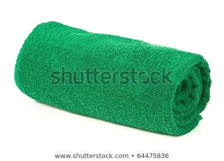 tekert · fehér · fürdőkád · törölközők · hotel · fürdő - stock fotó © shutswis