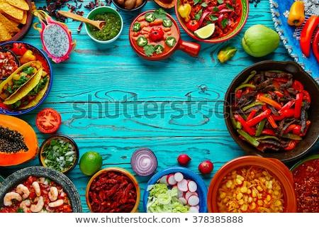 мексиканских · приготовления · специи · сушат · тмин · орегано - Сток-фото © rojoimages