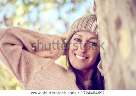 блондинка золото красивой чешский женщину Сток-фото © disorderly