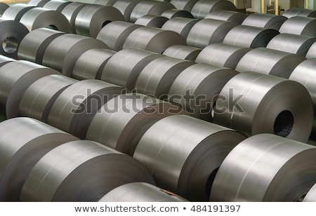 steel rolled coil stock photo © mady70