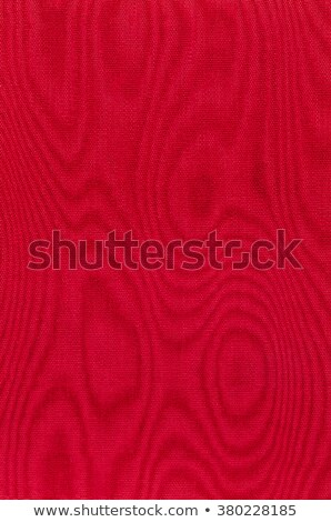 Red woven fabric with moire Stock photo © Zerbor