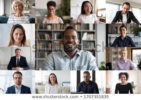 アフリカ · ビジネスマン · 作業 · ノートパソコン · オフィス · ビジネス - ストックフォト © MilanMarkovic78
