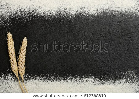 ears of wheat on slate stone Stock photo © PixelsAway