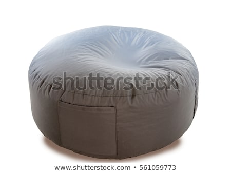 A grey chair with a round foam Stock photo © bluering