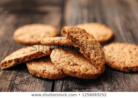 クッキー 素朴な ごま 食品 健康 ボウル ストックフォト © drobacphoto