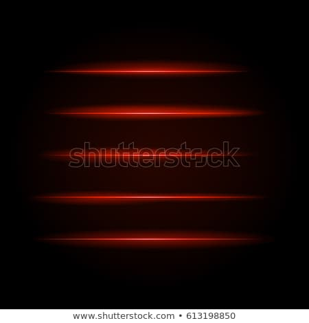 technology background with lines and red glossy squares stock photo © saicle