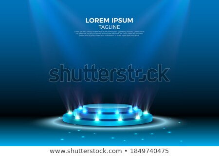 ünnepi · színpad · pódium · jelenet · vektor · zuhan - stock fotó © beholdereye
